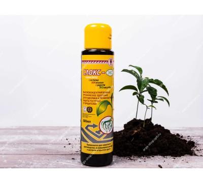 Удобрение органическое для подкормки и защиты растений от вред. «Слокс-эко», 500 мл