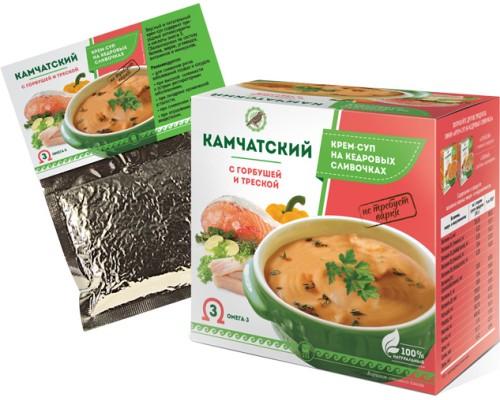 Крем-суп «Камчатский» с горбушей и треской, 30 г