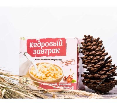 Завтрак кедровый для крепкого иммунитета с клюквой, вишней и облепихой, 40 г