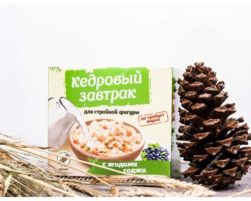 Завтрак кедровый для стройной фигуры с ягодами годжи, 40 г