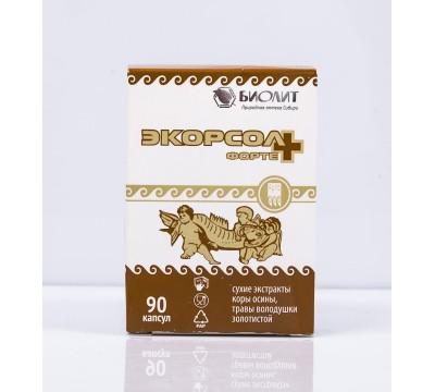 Экорсол-форте+, капсулы, 90 шт